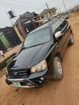 Toyota Highlander 2004 Limited V6 4x4 Black | Cars for sale in Lagos State, Ifako-Ijaiye