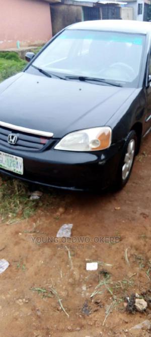 Honda Civic 2000 Black   Cars for sale in Lagos State, Alimosho