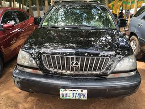 Lexus RX 2002 300 4WD Black | Cars for sale in Abuja (FCT) State, Gudu