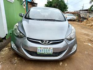 Hyundai Elantra 2013 Gray   Cars for sale in Lagos State, Ikeja