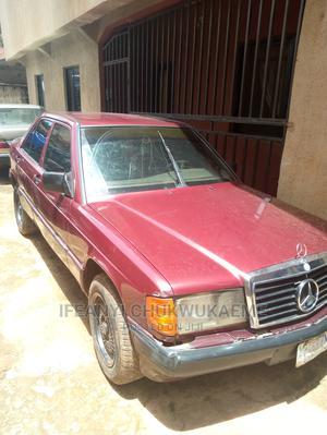 Mercedes-Benz 190E 1995 Red | Cars for sale in Enugu State, Enugu