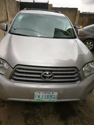 Toyota Highlander 2008 4x4 Gray   Cars for sale in Lagos State, Ojodu