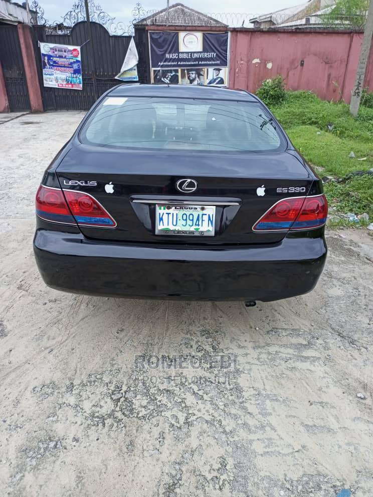 Lexus ES 2005 330 Black