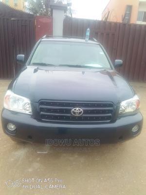 Toyota Highlander 2004 V6 FWD Black | Cars for sale in Lagos State, Ejigbo