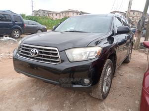 Toyota Highlander 2008 Sport Black | Cars for sale in Lagos State, Isolo