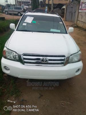 Toyota Highlander 2006 Limited V6 White | Cars for sale in Lagos State, Ejigbo