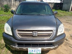Honda Pilot 2005 EX 4x4 (3.5L 6cyl 5A) Gray | Cars for sale in Rivers State, Port-Harcourt