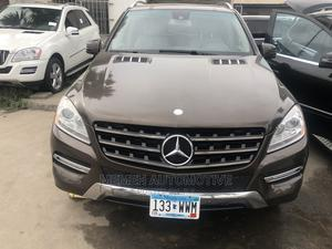 Mercedes-Benz M Class 2014 Brown | Cars for sale in Lagos State, Apapa