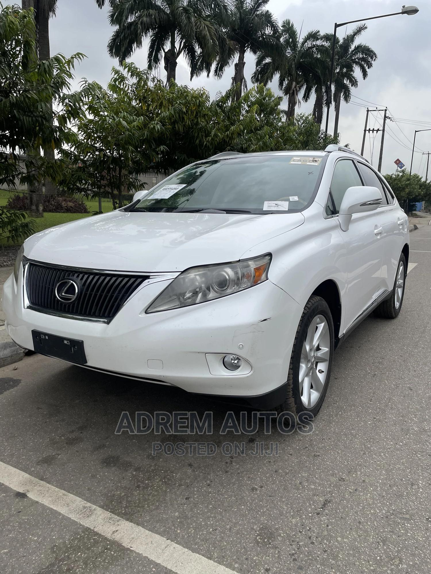 Lexus RX 2011 350 White | Cars for sale in Ogba, Lagos State, Nigeria
