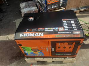 Firman Petrol Soundproof Generator   Electrical Equipment for sale in Lagos State, Ojo