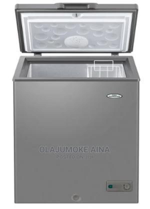 Haier Thermocool Freezer - Htf 100HAS R6 SLV   Kitchen Appliances for sale in Lagos State, Ilupeju