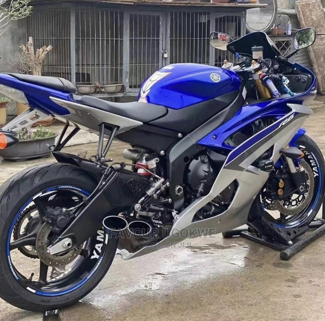 New Yamaha R6 2012 Blue   Motorcycles & Scooters for sale in Lagos Island (Eko), Lagos State, Nigeria