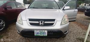 Honda CR-V 2003 EX 4WD Automatic Silver | Cars for sale in Abuja (FCT) State, Kubwa