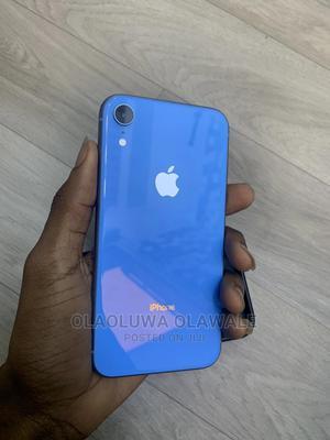 Apple iPhone XR 256 GB Blue   Mobile Phones for sale in Lagos State, Ogudu
