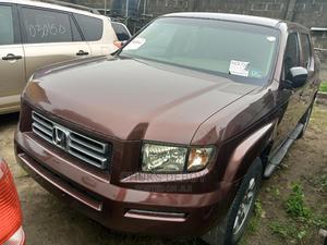 Honda Ridgeline 2008 RTS Burgandy | Cars for sale in Lagos State, Amuwo-Odofin