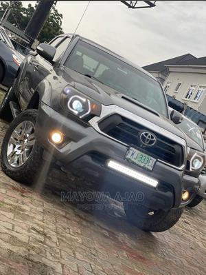 Toyota Tacoma 2012 Double Cab V6 Automatic Gray | Cars for sale in Lagos State, Ojodu