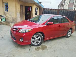 Toyota Corolla 2013 Red | Cars for sale in Lagos State, Oshodi