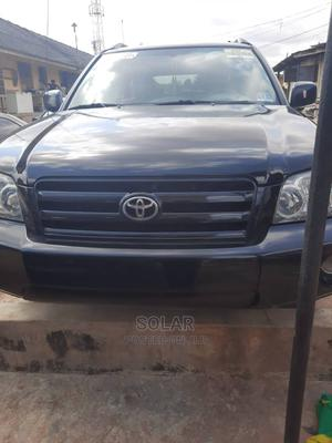 Toyota Highlander 2006 V6 4x4 Black   Cars for sale in Lagos State, Ikeja