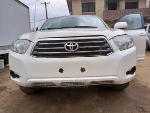 Toyota Highlander 2010 White   Cars for sale in Lagos State, Abule Egba