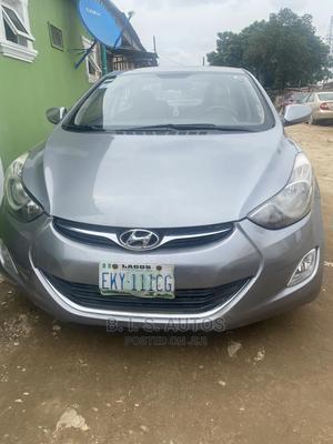 Hyundai Elantra 2013 Gray   Cars for sale in Lagos State, Ogba