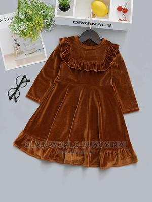 Velvet Party Dress | Children's Clothing for sale in Lagos State, Yaba