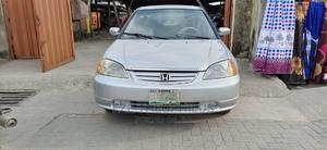 Honda Civic 2001 Silver | Cars for sale in Lagos State, Surulere