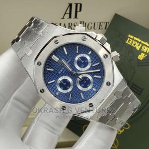 Audemars Piguet (AP) Chronograph Silver Chain Watch | Watches for sale in Lagos State, Lagos Island (Eko)