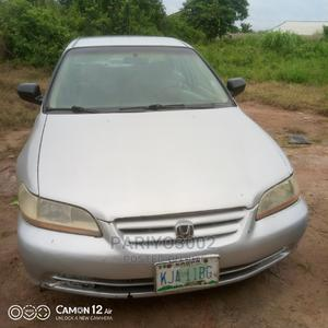 Honda Accord 2002 LX Automatic Silver   Cars for sale in Lagos State, Abule Egba