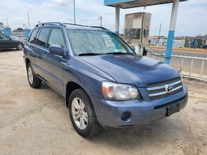 Toyota Highlander 2007 Hybrid Limited 4x4 Blue   Cars for sale in Oyo State, Oluyole