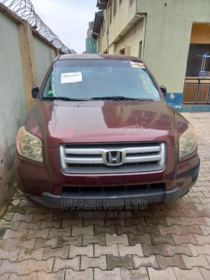 Honda Pilot 2007 EX 4x4 (3.5L 6cyl 5A) Red | Cars for sale in Lagos State, Kosofe