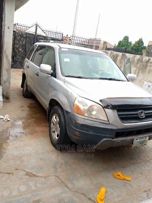 Honda Pilot 2004 EX 4x4 (3.5L 6cyl 5A) Silver | Cars for sale in Ogun State, Ado-Odo/Ota