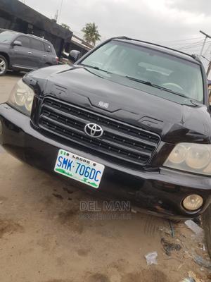 Toyota Highlander 2003 Black | Cars for sale in Lagos State, Surulere