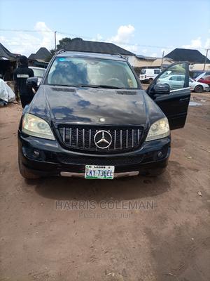 Mercedes-Benz M Class 2008 ML 350 4Matic Black | Cars for sale in Delta State, Aniocha North