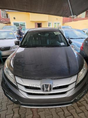 Honda Accord Crosstour 2015 EX-L W/Navigation AWD Gray | Cars for sale in Lagos State, Surulere