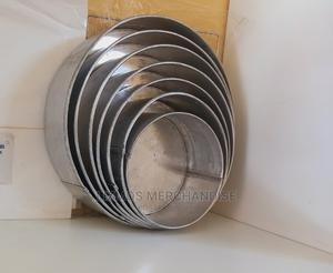 7pcs Sset of Thick Round Cake Pans   Restaurant & Catering Equipment for sale in Lagos State, Ajah