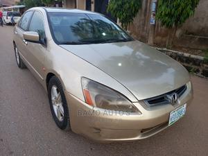 Honda Accord 2004 2.4 Type S Automatic Gold | Cars for sale in Lagos State, Ojodu