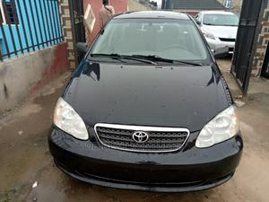 Toyota Corolla 2007 LE Black | Cars for sale in Lagos State, Isolo