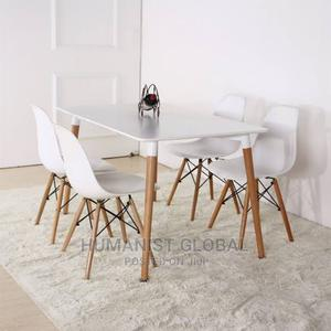 Foreign Coffee Table With 4set of Dining Chair | Furniture for sale in Abuja (FCT) State, Wuse