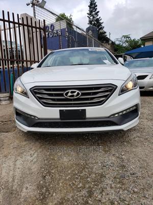 Hyundai Sonata 2015 White   Cars for sale in Lagos State, Magodo