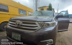 Toyota Highlander 2013 Limited 3.5l 4WD Gray   Cars for sale in Lagos State, Mushin