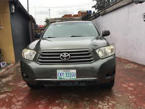 Toyota Highlander 2008 Limited Gray   Cars for sale in Lagos State, Ikeja