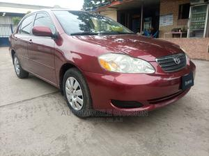 Toyota Corolla 2007 LE Red | Cars for sale in Lagos State, Ikeja