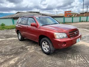 Toyota Highlander 2003 Red   Cars for sale in Oyo State, Ibadan