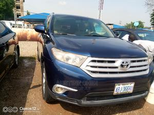 Toyota Highlander 2012 Limited Blue   Cars for sale in Abuja (FCT) State, Central Business District