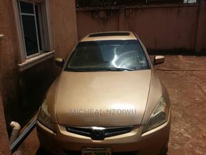 Honda Accord 2005 2.4 Type S Automatic Gold   Cars for sale in Enugu State, Enugu