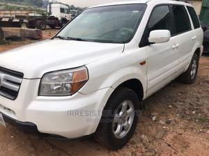 Honda Pilot 2006 EX 4x4 (3.5L 6cyl 5A) White | Cars for sale in Lagos State, Ojodu