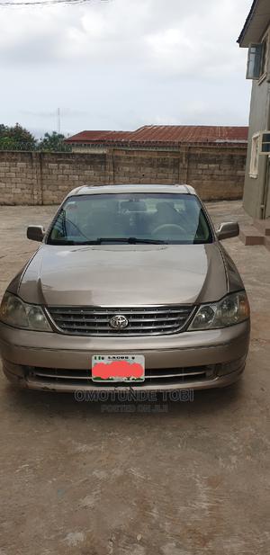 Toyota Avalon 2003 XLS W/ Bucket Seats Beige | Cars for sale in Ekiti State, Ado Ekiti