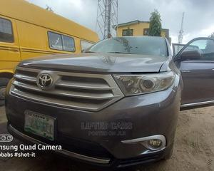 Toyota Highlander 2013 Gray   Cars for sale in Lagos State, Mushin