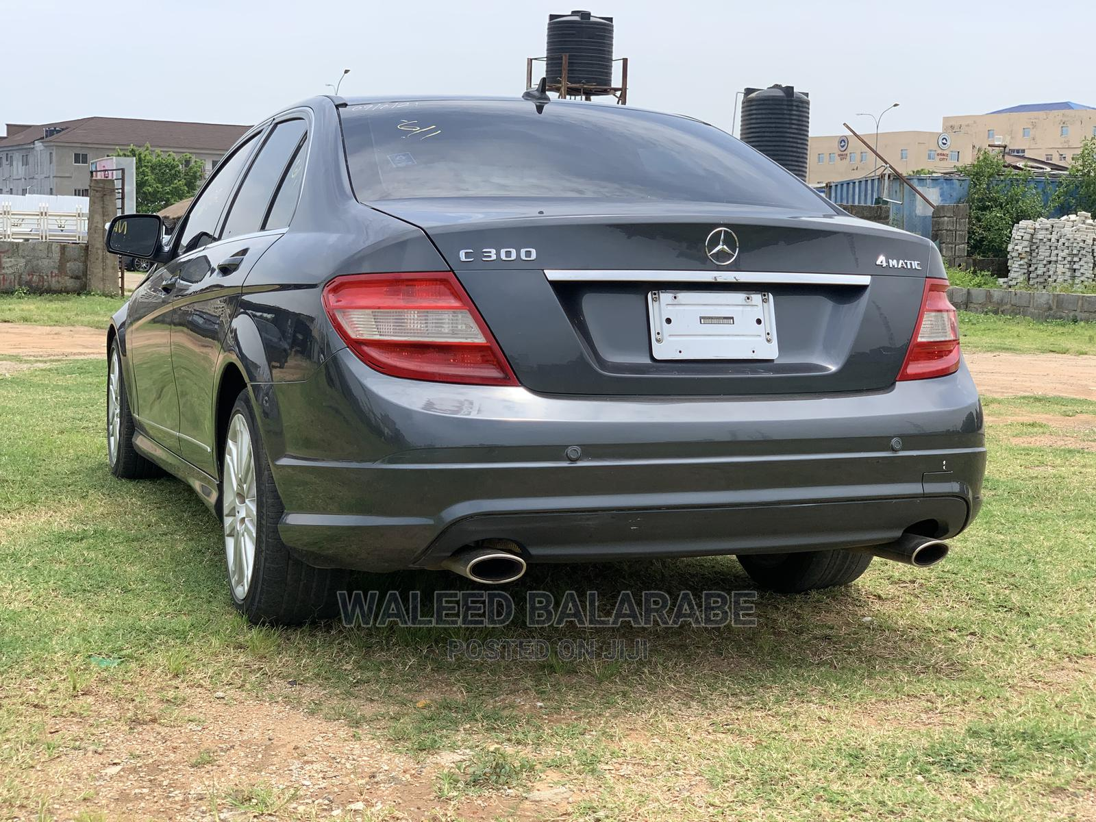 Mercedes-Benz C300 2009 Gray | Cars for sale in Jahi, Abuja (FCT) State, Nigeria