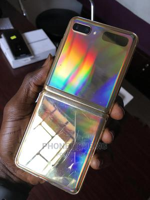 Samsung Galaxy Z Flip 256 GB Gold   Mobile Phones for sale in Lagos State, Ikeja